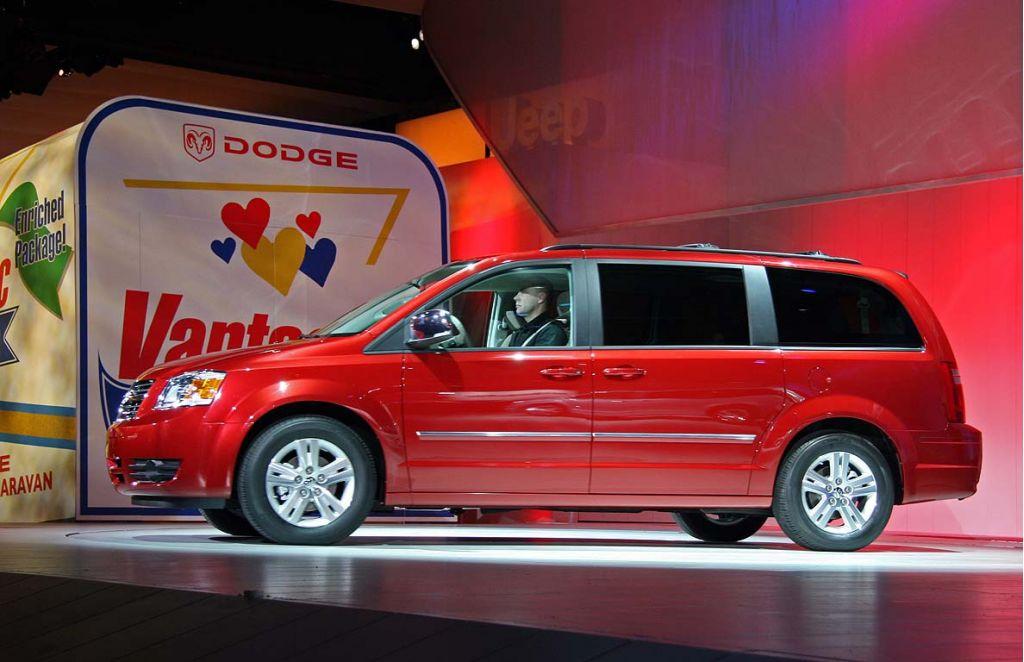 2008 Dodge Grand Caravan, Detroit Auto Show