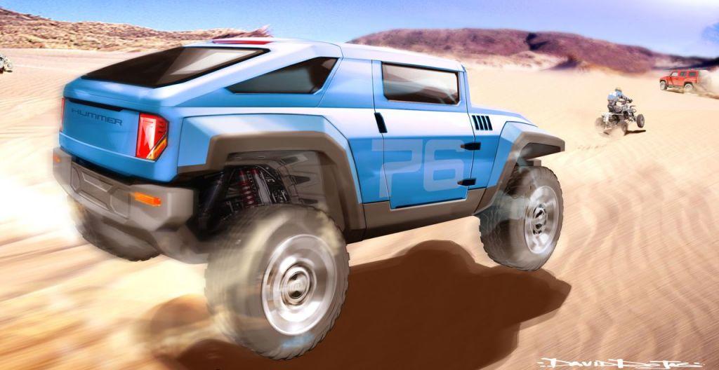 2008 HUMMER HX Concept - Rojas