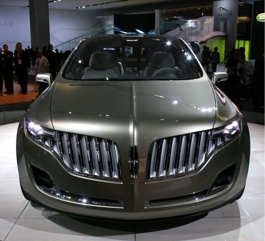 2008 Lincoln MKT Concept, Detroit Auto Show