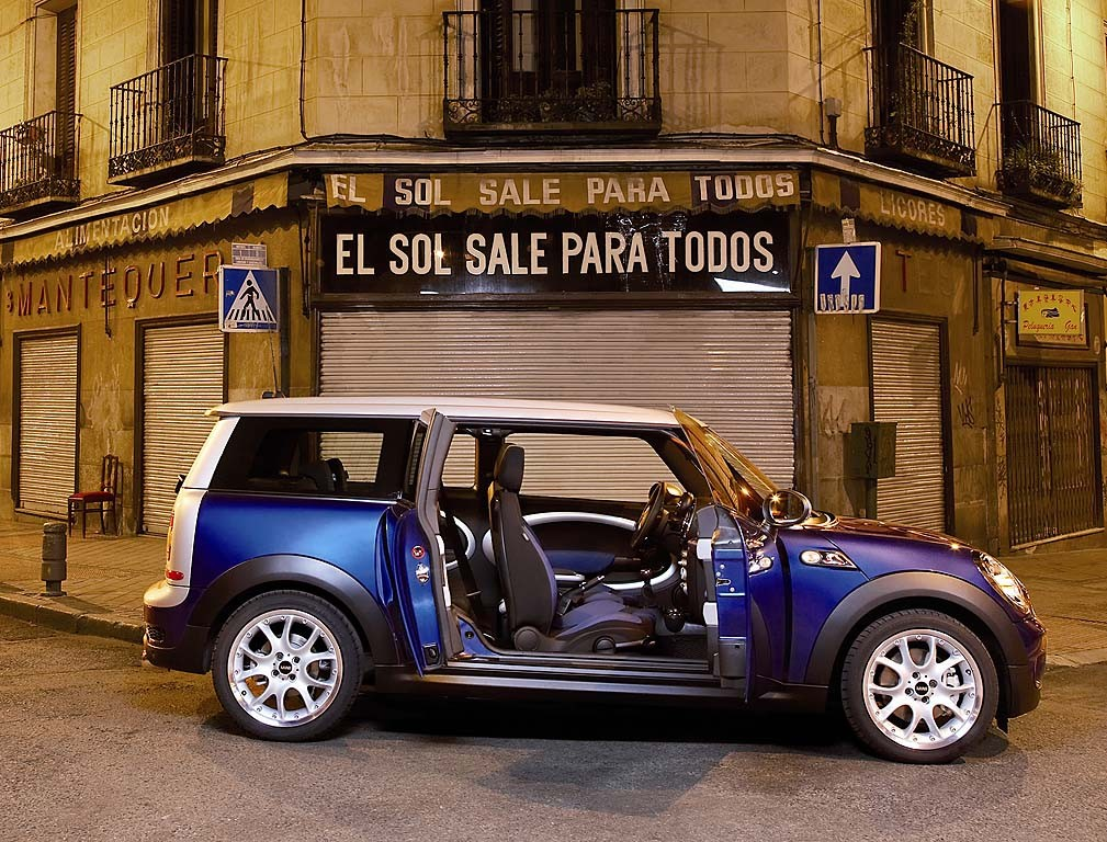 2009 mini cooper clubman will you rock one in 2009. Black Bedroom Furniture Sets. Home Design Ideas
