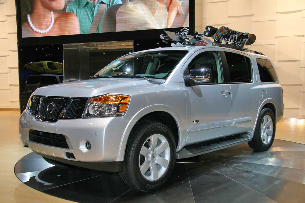 image 2008 nissan armada chicago auto show size 1024 x 683 type gif posted on february 8. Black Bedroom Furniture Sets. Home Design Ideas