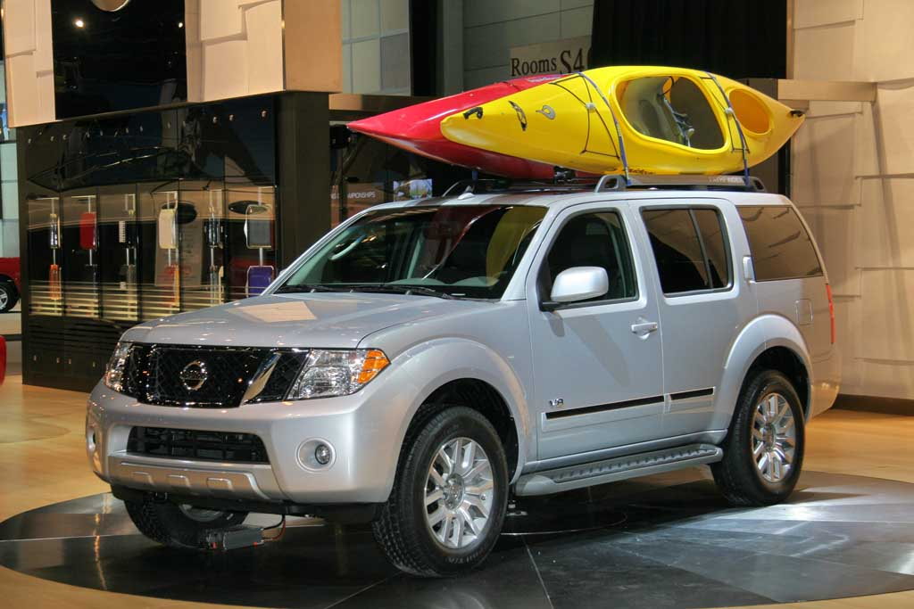 Image 2008 Nissan Pathfinder Chicago Auto Show Size
