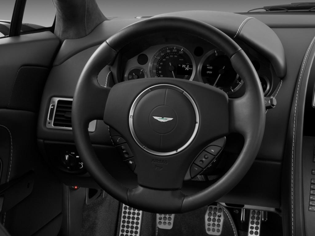 Image 2009 aston martin vantage 2 door coupe man steering for A123 service honda civic