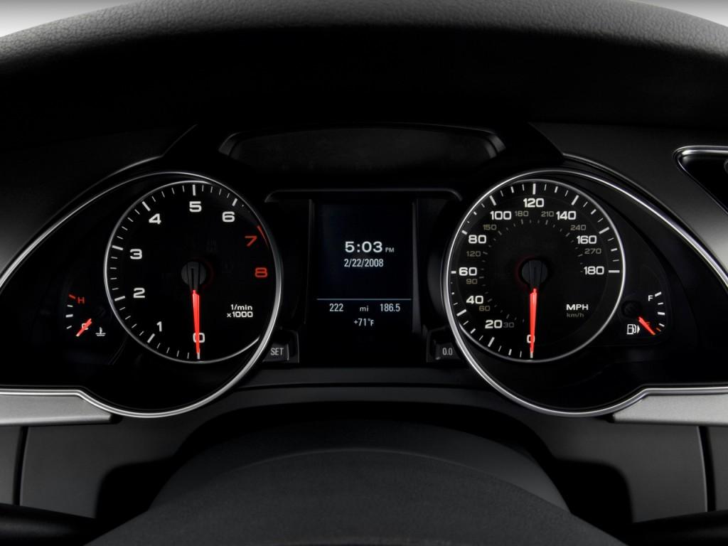 Image 2009 Audi A5 2 Door Coupe Auto Instrument Cluster