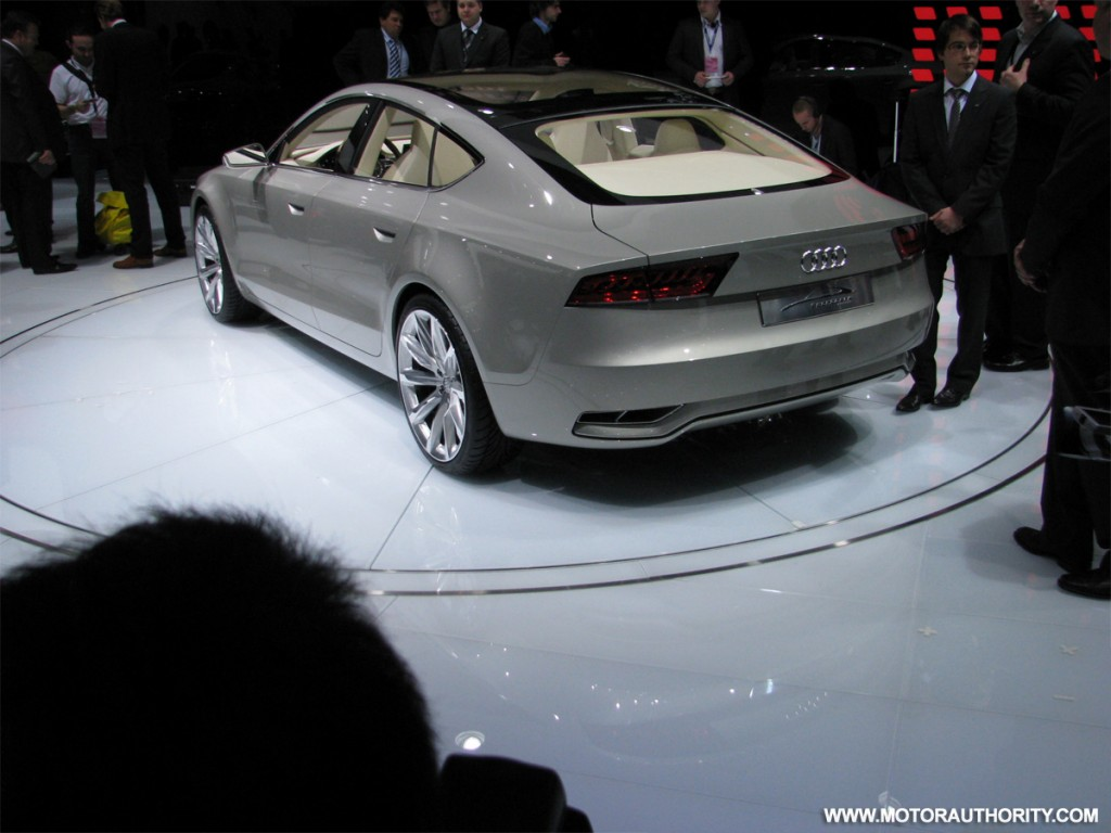 image 2009 audi a7 sportback concept live 05 size 1024 x 768 type gif posted on january. Black Bedroom Furniture Sets. Home Design Ideas