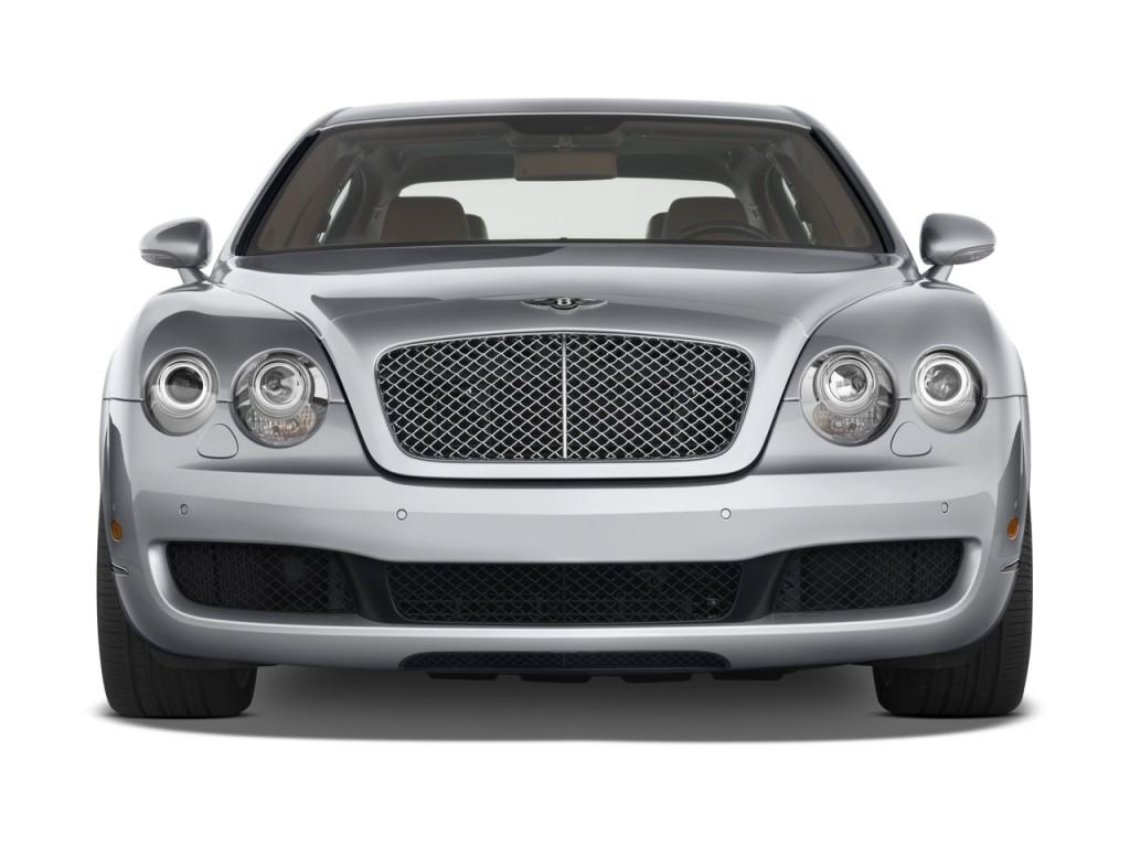 Image 2009 Bentley Continental Flying Spur 4 Door Sedan Front Exterior View Size 1024 X 768
