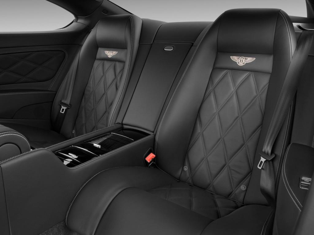 Image 2009 Bentley Continental Gt 2 Door Coupe Rear Seats
