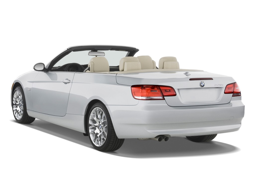 image 2009 bmw 3 series 2 door convertible 328i angular rear exterior view size 1024 x 768. Black Bedroom Furniture Sets. Home Design Ideas