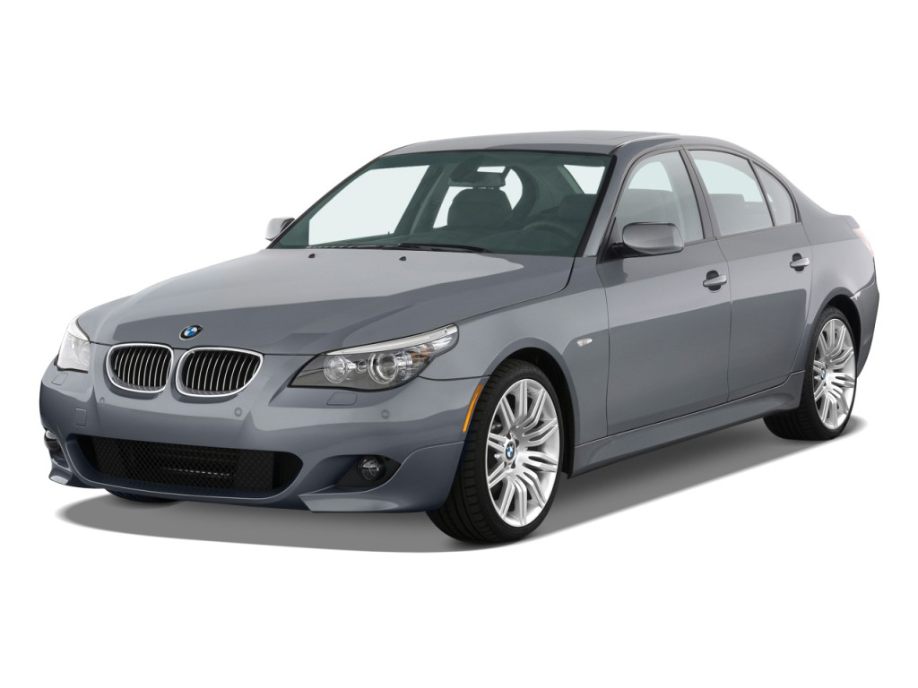 image 2009 bmw 5 series 4 door sedan 550i rwd angular. Black Bedroom Furniture Sets. Home Design Ideas