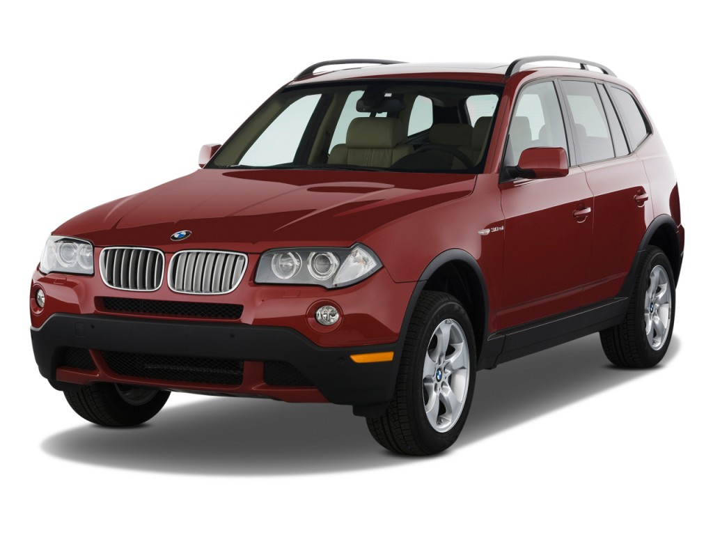 image 2009 bmw x3 series awd 4 door 30i angular front. Black Bedroom Furniture Sets. Home Design Ideas