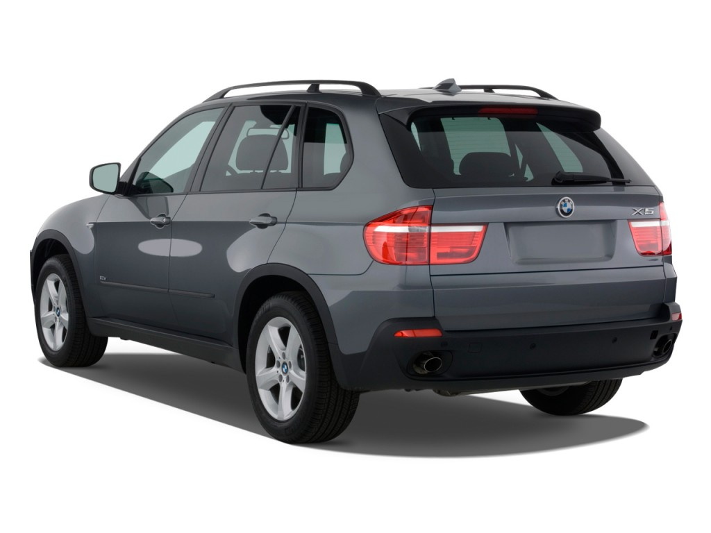 Image: 2009 BMW X5-Series AWD 4-door 30i Angular Rear Exterior View, size: 1024 x 768, type: gif ...