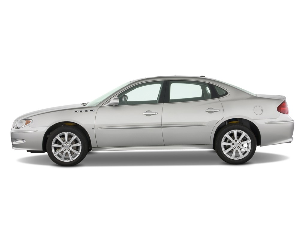 Image 2009 Buick LaCrosse 4 door Sedan Super Side
