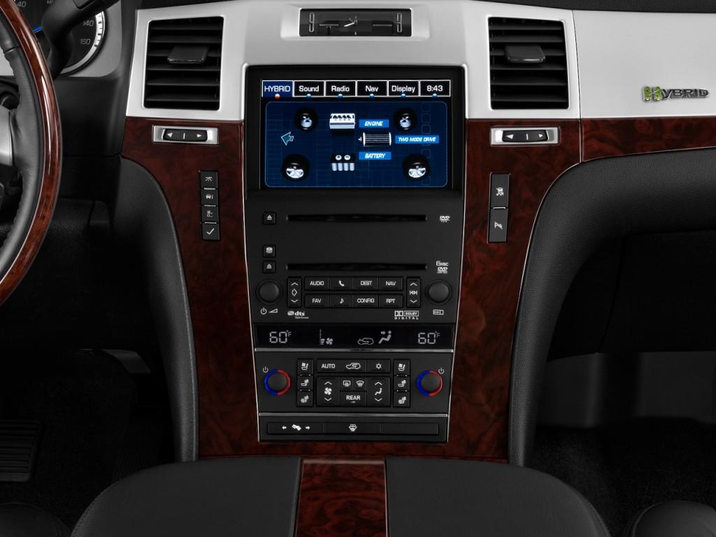 Image 2009 Cadillac Escalade 2wd 4 Door Hybrid Instrument