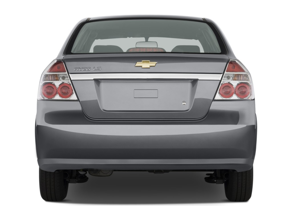 image 2009 chevrolet aveo 4 door sedan ls rear exterior. Black Bedroom Furniture Sets. Home Design Ideas