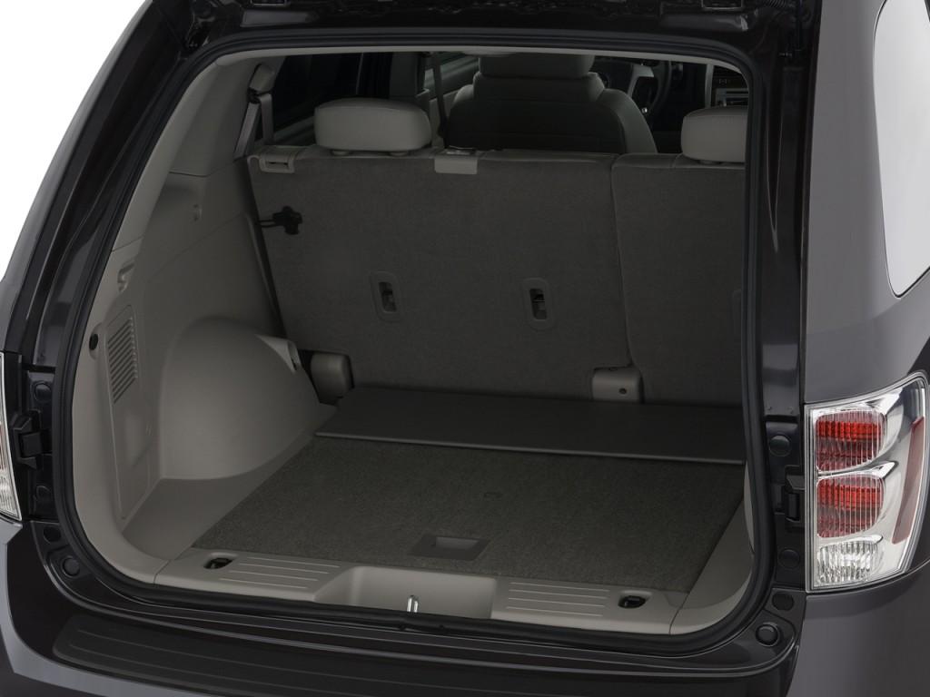 Image: 2009 Chevrolet Equinox FWD 4-door LT w/1LT Trunk ...