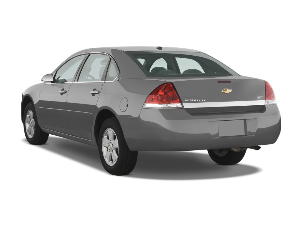 Image 2009 Chevrolet Impala 4 Door Sedan 3 5l Lt Angular