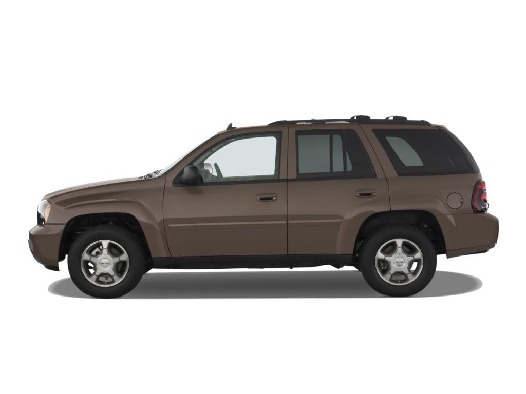 Image: 2009 Chevrolet TrailBlazer 2WD 4-door LT w/3LT Side Exterior View, size: 1024 x 768, type