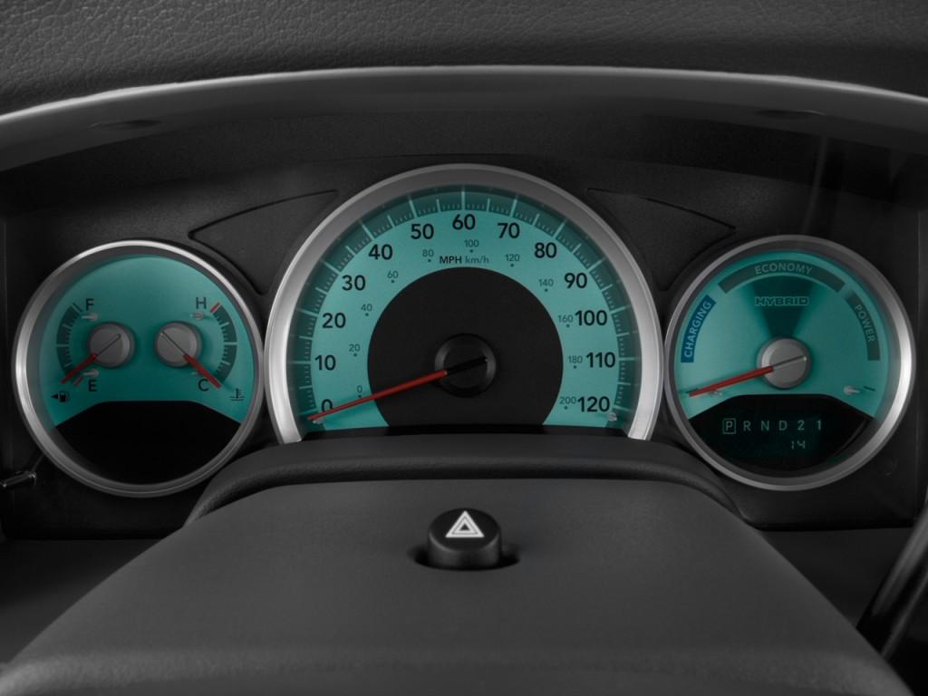 Image 2009 Dodge Durango 4wd 4 Door Limited Hybrid