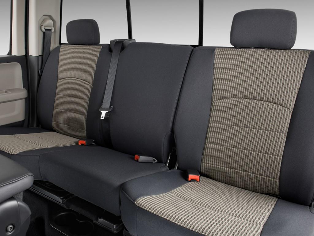 "Image: 2009 Dodge Ram 1500 2WD Quad Cab 140.5"" SLT Rear Seats, size: 1024 x 768, type: gif ..."