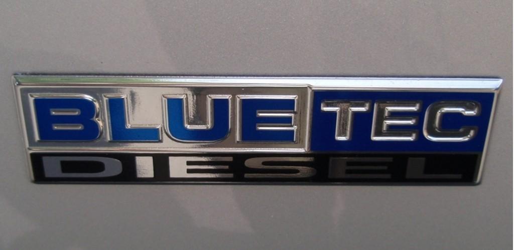 Bluetec logo (Dodge Ram HD)