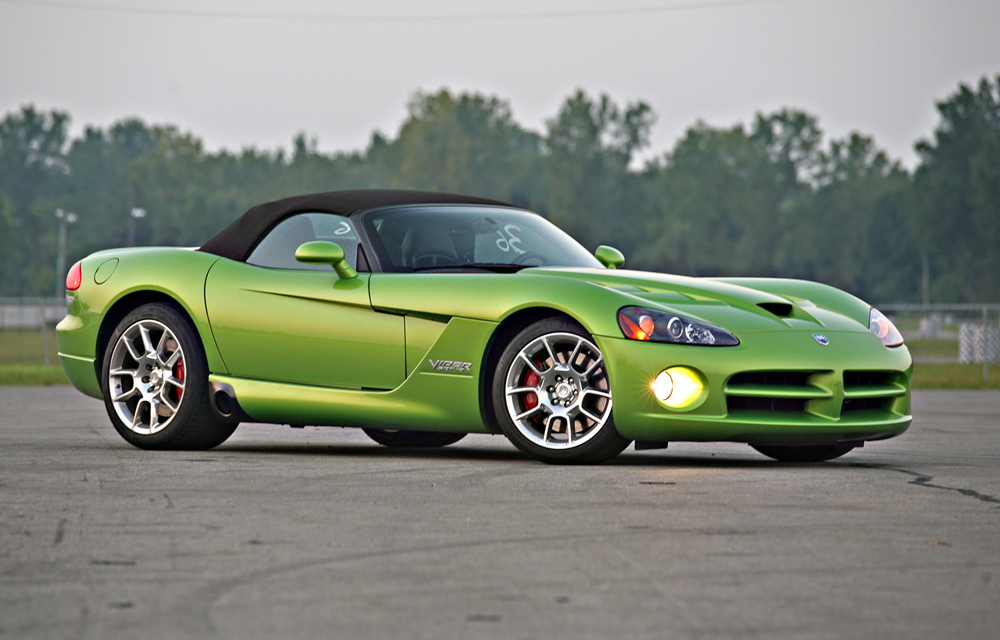 2009 Dodge Viper at Milan Dragway