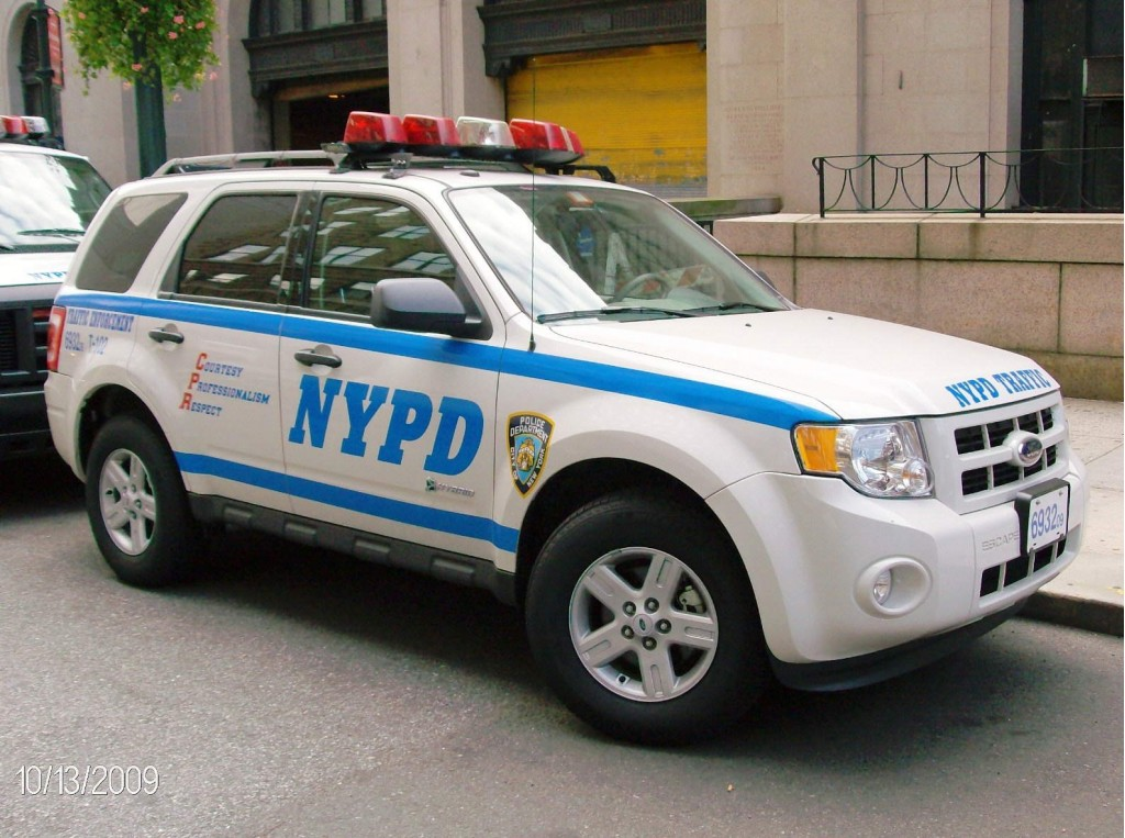 Image 2009 Ford Escape Hybrid Used By Nypd Traffic Unit
