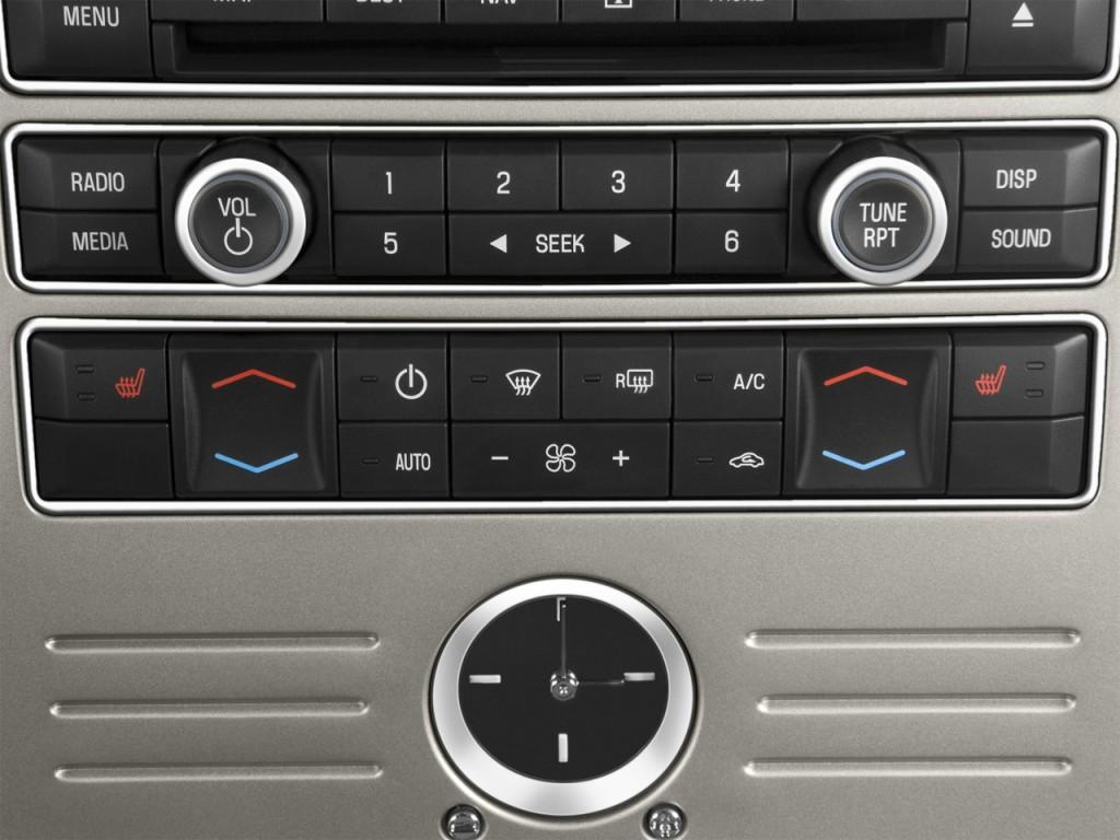 Temperature Controls 2009 Ford Flex 4 door Limited FWD #446987