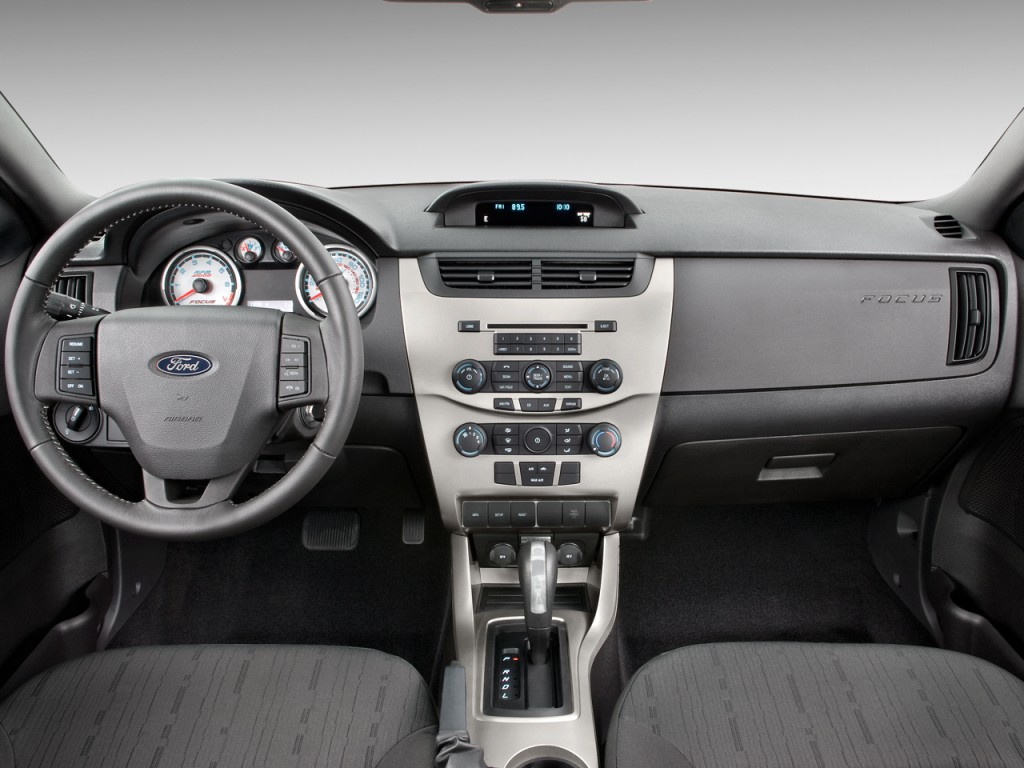 2009 ford focus 2 door coupe se dashboard