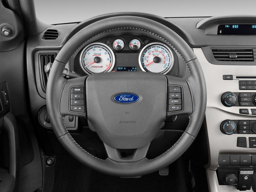 2009 ford focus 2 door coupe se steering wheel