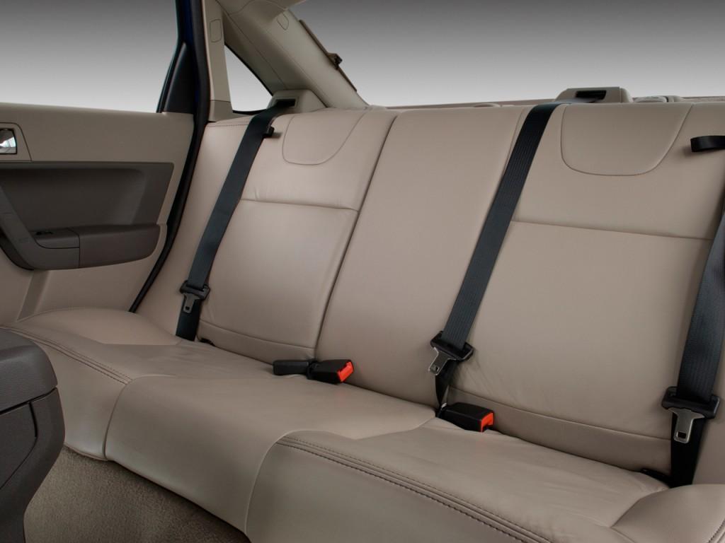 Image 2009 Ford Focus 4 Door Sedan Se Rear Seats Size