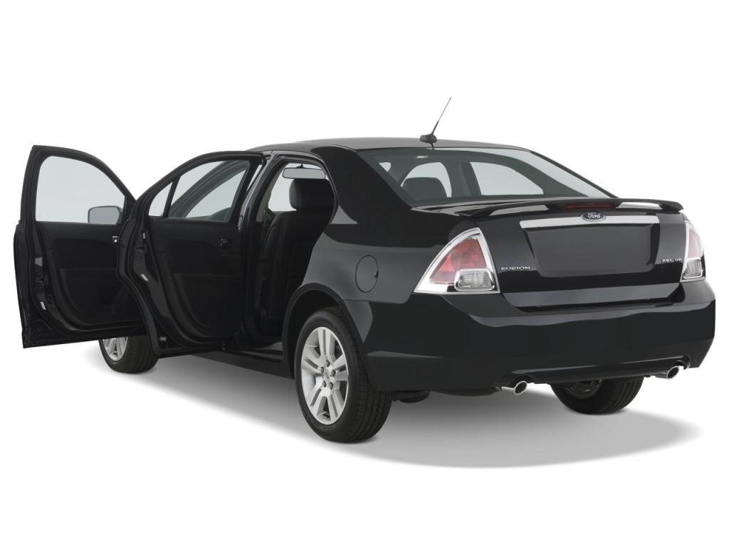 image 2009 ford fusion 4 door sedan v6 sel fwd open doors. Black Bedroom Furniture Sets. Home Design Ideas