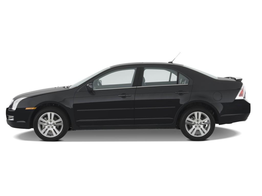 image 2009 ford fusion 4 door sedan v6 sel fwd side. Black Bedroom Furniture Sets. Home Design Ideas