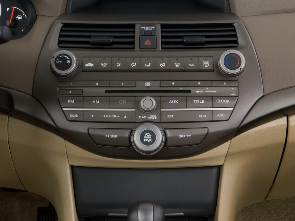 Image: 2009 Honda Accord Sedan 4-door I4 Auto LX Instrument Panel, size: 1024 x 768, type: gif ...