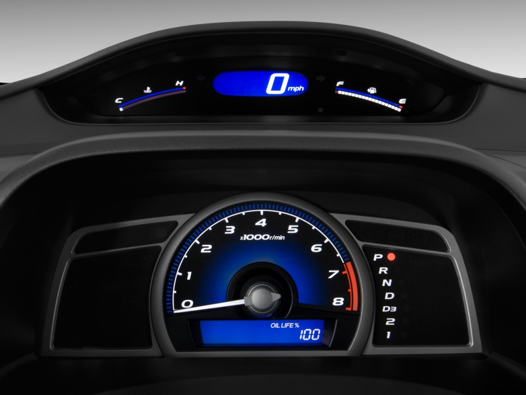 Used Honda Crosstour >> Image: 2009 Honda Civic Coupe 2-door Auto EX-L w/Navi ...