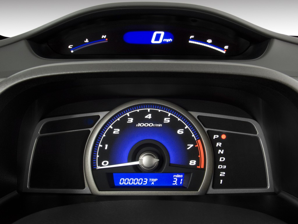 Image 2009 Honda Civic Sedan 4 Door Auto Lx Instrument