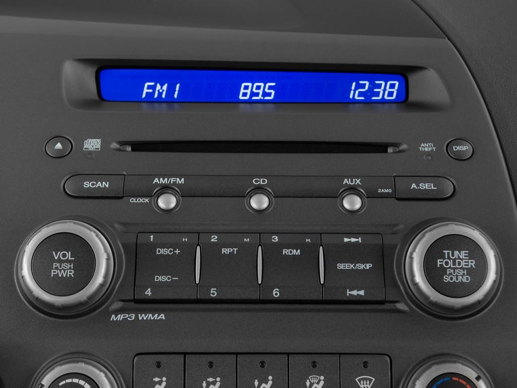 image 2009 honda civic sedan 4 door auto lx s audio. Black Bedroom Furniture Sets. Home Design Ideas