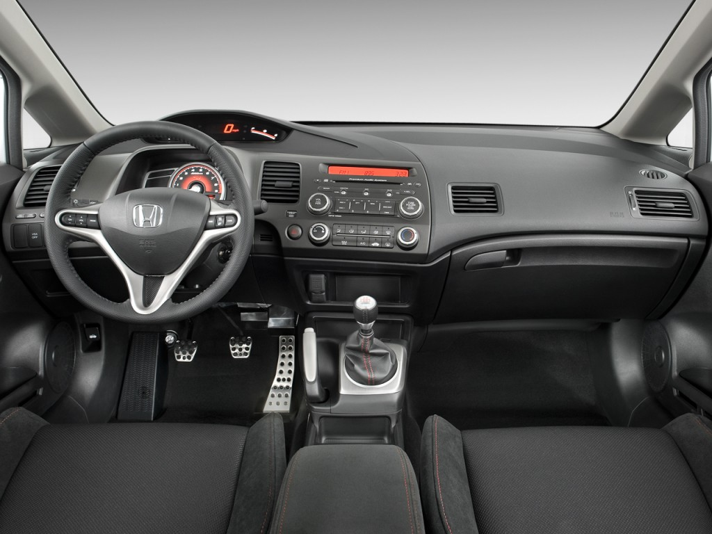 image 2009 honda civic sedan 4 door man si dashboard size 1024 x 768 type gif posted on. Black Bedroom Furniture Sets. Home Design Ideas