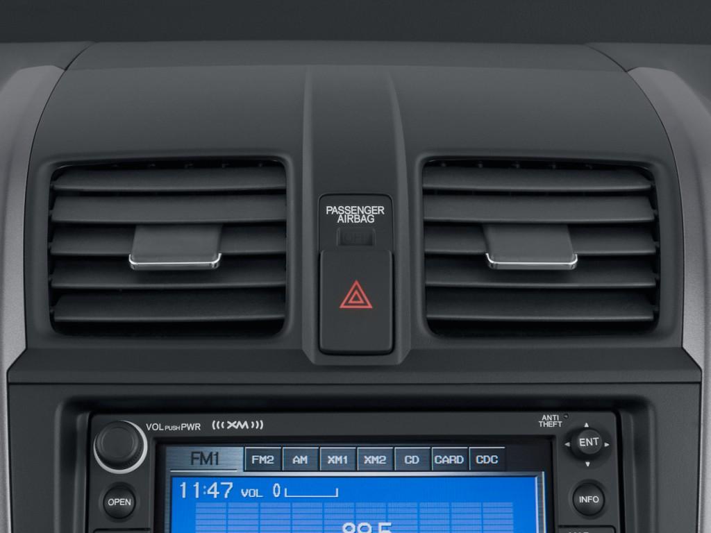 Image 2009 Honda Cr V 2wd 5dr Ex L W Navi Air Vents Size