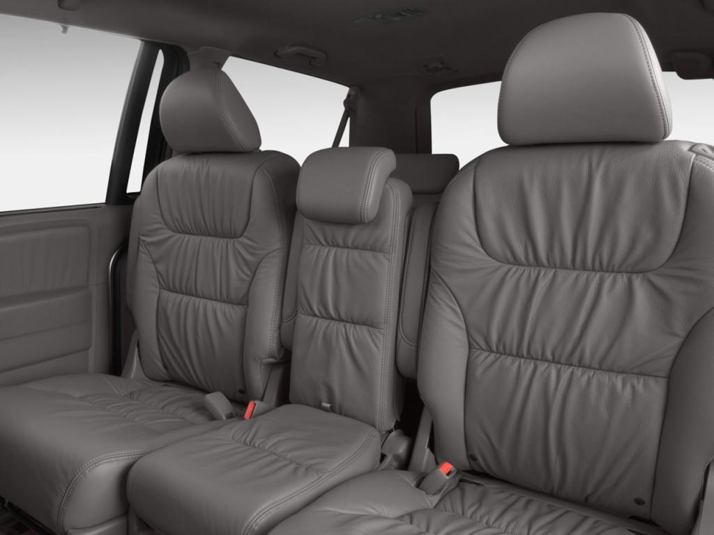 Honda Pilot Captains Chairs >> Image: 2009 Honda Odyssey 4-door Wagon EX-L Rear Seats ...