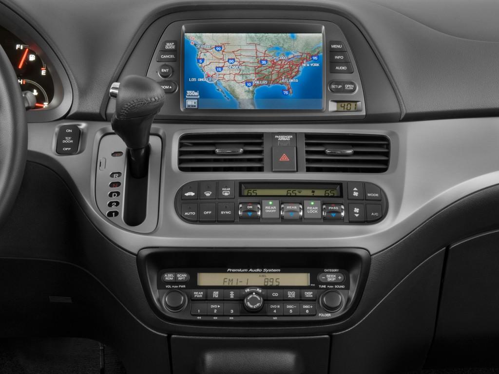 Image 2009 Honda Odyssey 4 Door Wagon Touring Instrument