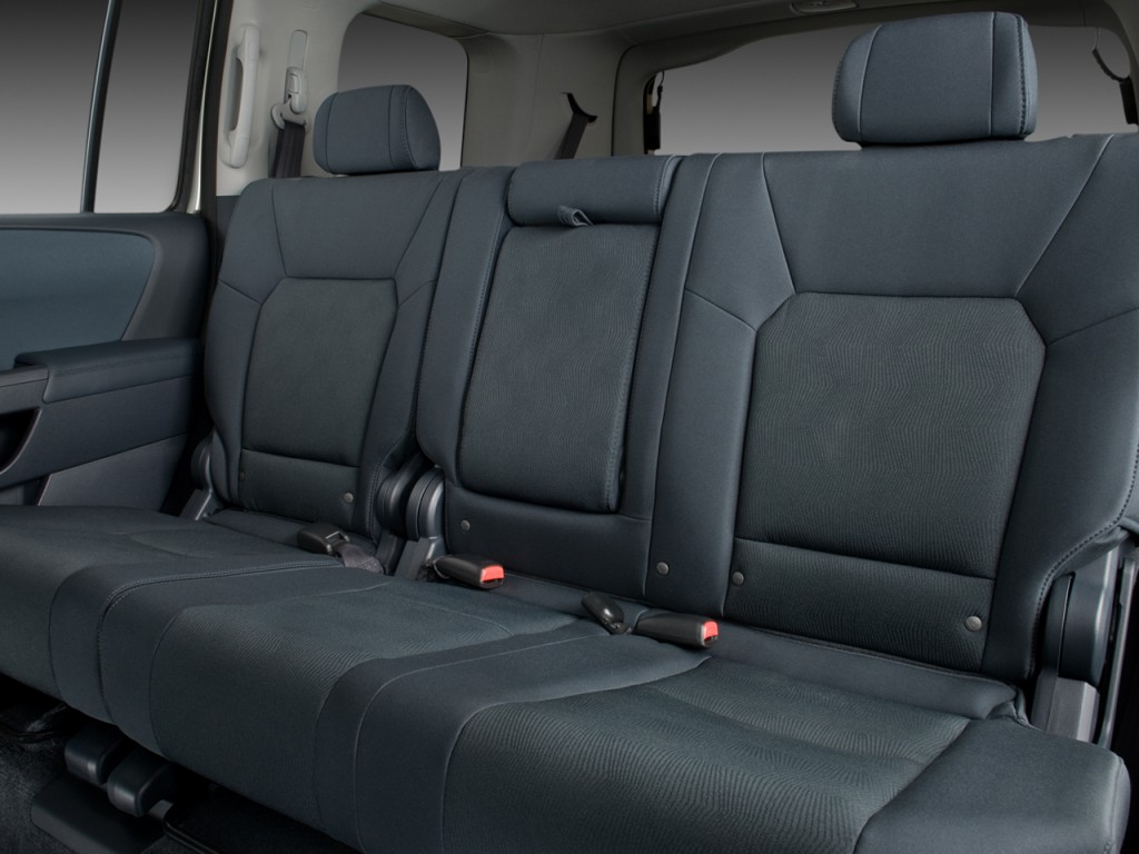 image 2009 honda pilot 2wd 4 door lx rear seats size 1024 x 768 type gif posted on. Black Bedroom Furniture Sets. Home Design Ideas