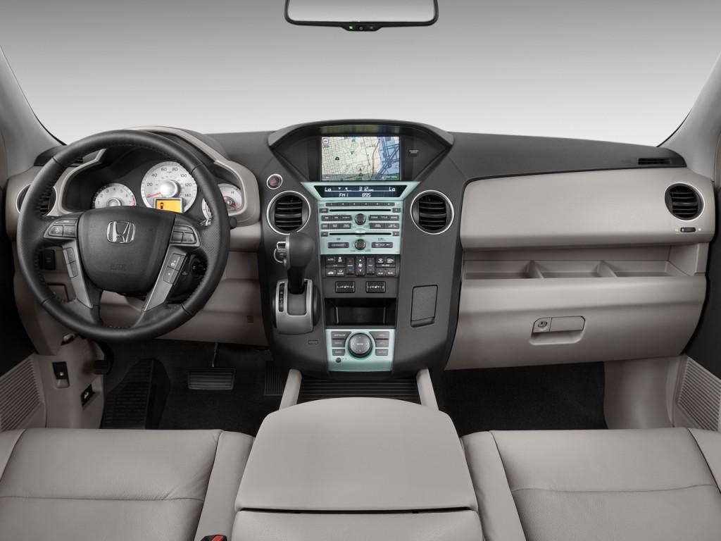 Image 2009 Honda Pilot 4wd 4 Door Touring W Res Amp Navi Dashboard Size 1024 X 768 Type Gif