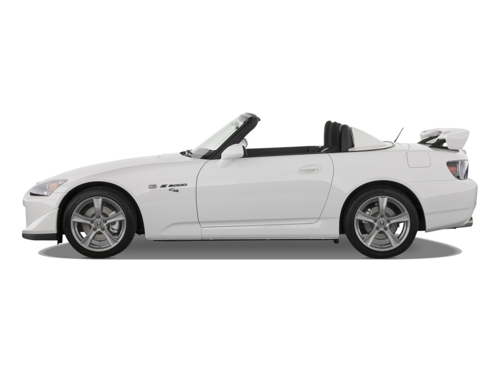 image 2009 honda s2000 2 door convertible cr w air conditioning side exterior view size 1024. Black Bedroom Furniture Sets. Home Design Ideas
