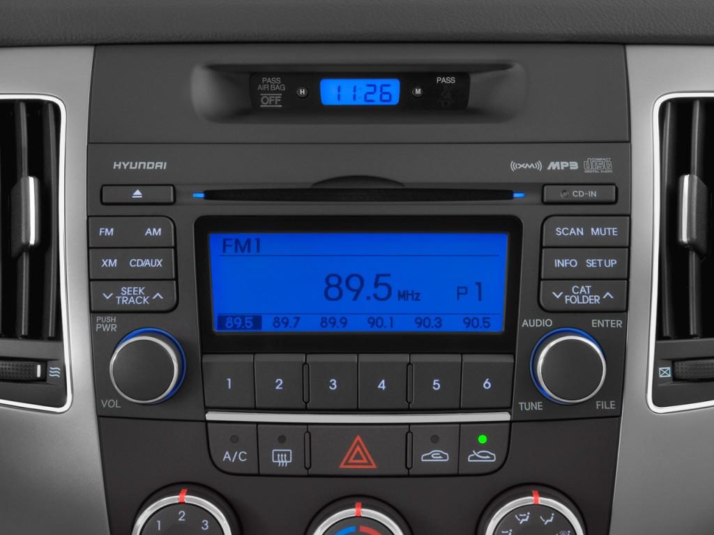 Image 2009 Hyundai Sonata 4 Door Sedan I4 Auto Gls Audio System Size 1024 X 768 Type Gif