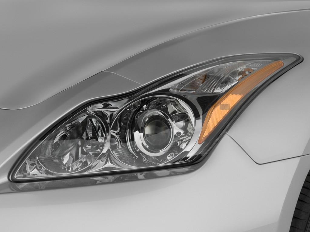 Image: 2009 Infiniti G37 Coupe 2-door Base RWD Headlight ...