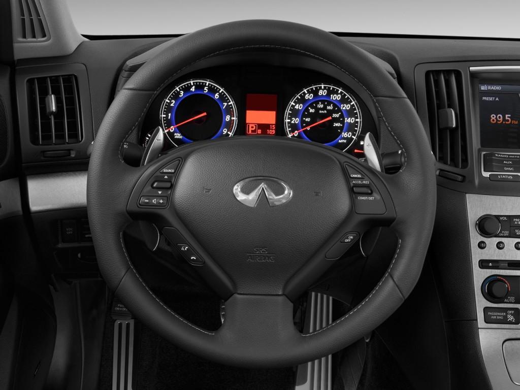 Image 2009 Infiniti G37 Sedan 4 Door Sport Rwd Steering Wheel Size 1024 X 768 Type Gif