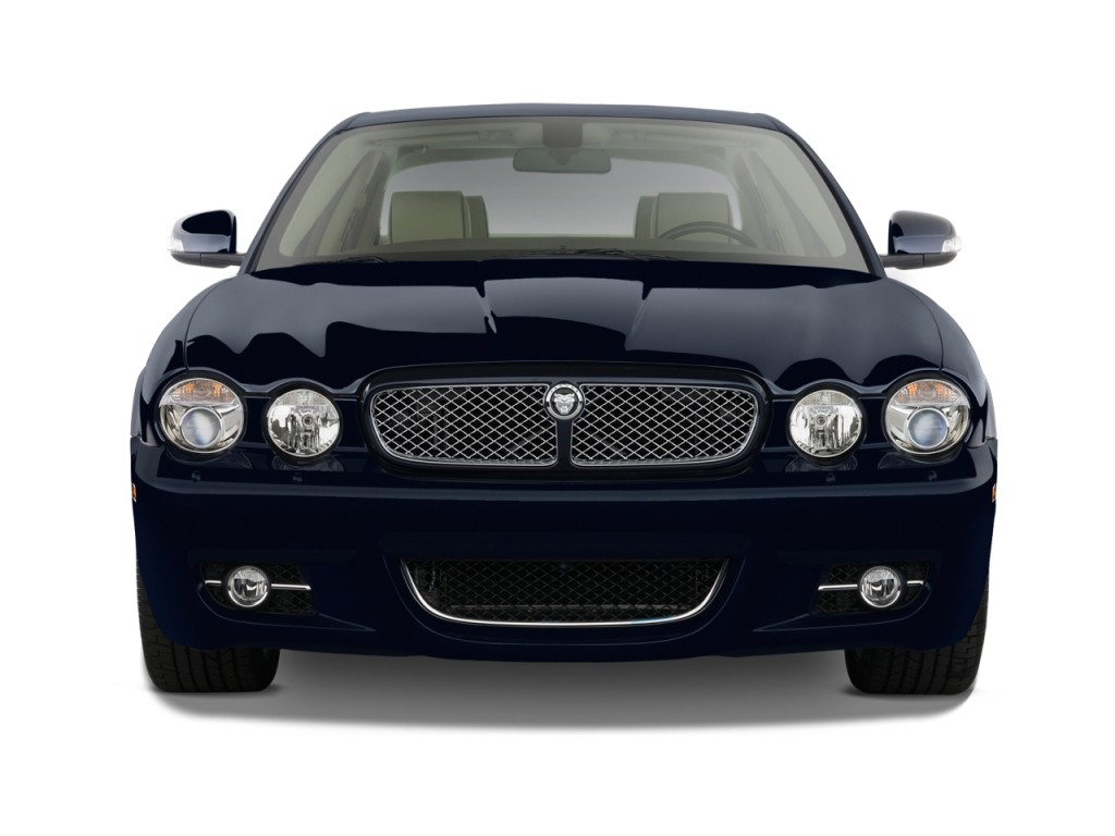Image 2009 jaguar xj 4 door sedan xj8 l front exterior for Jaguar xj exterior