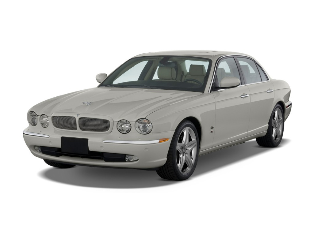 Image 2009 jaguar xj 4 door sedan xjr angular front for Jaguar xj exterior