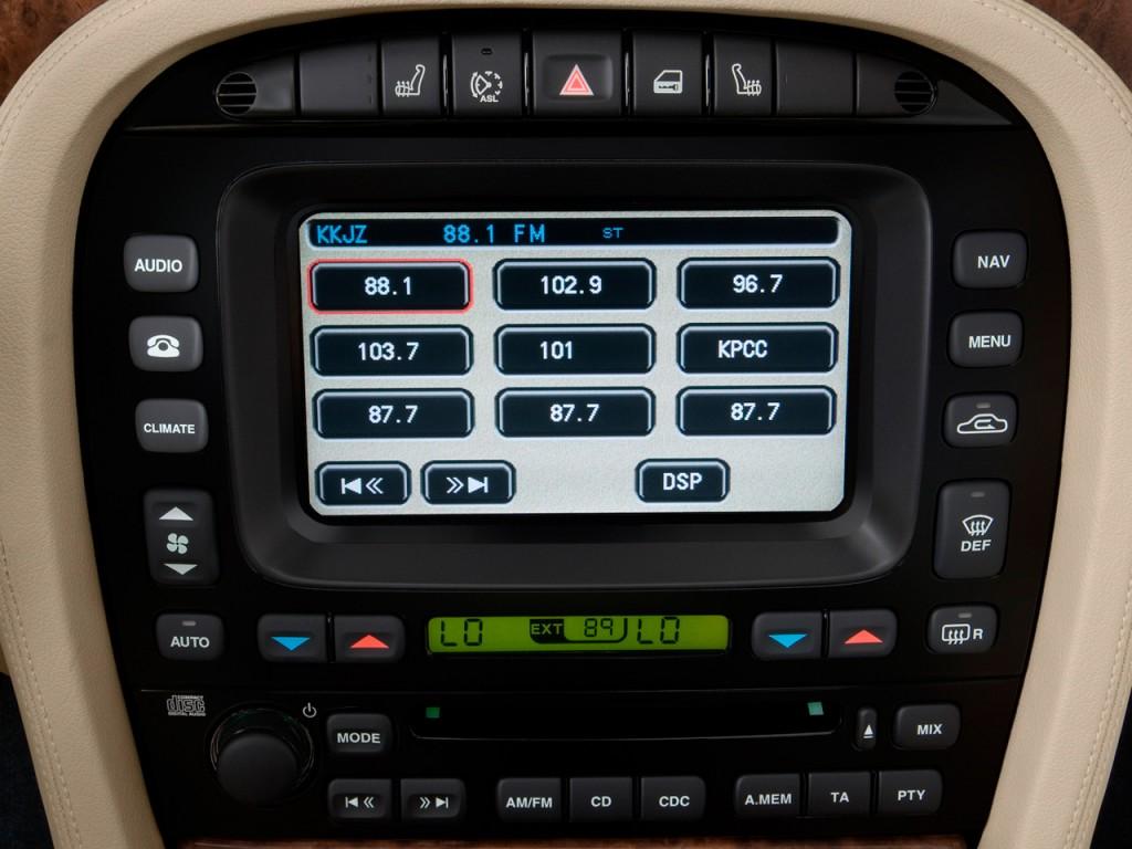 Image 2009 Jaguar Xj 4 Door Sedan Xjr Audio System Size