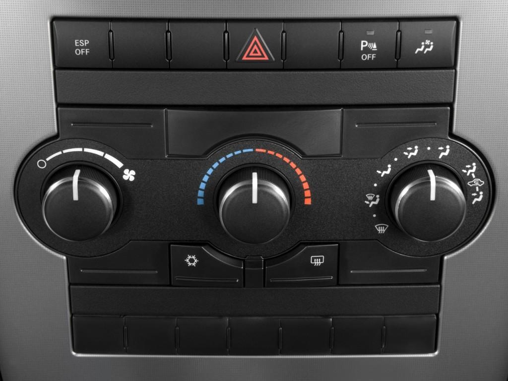 Image: 2009 Jeep Commander RWD 4-door Sport Temperature Controls, size ...
